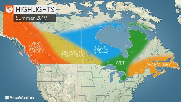 Summer Weather Is Coming Soon To NB: AccuWeather | 98 1 Charlotte FM