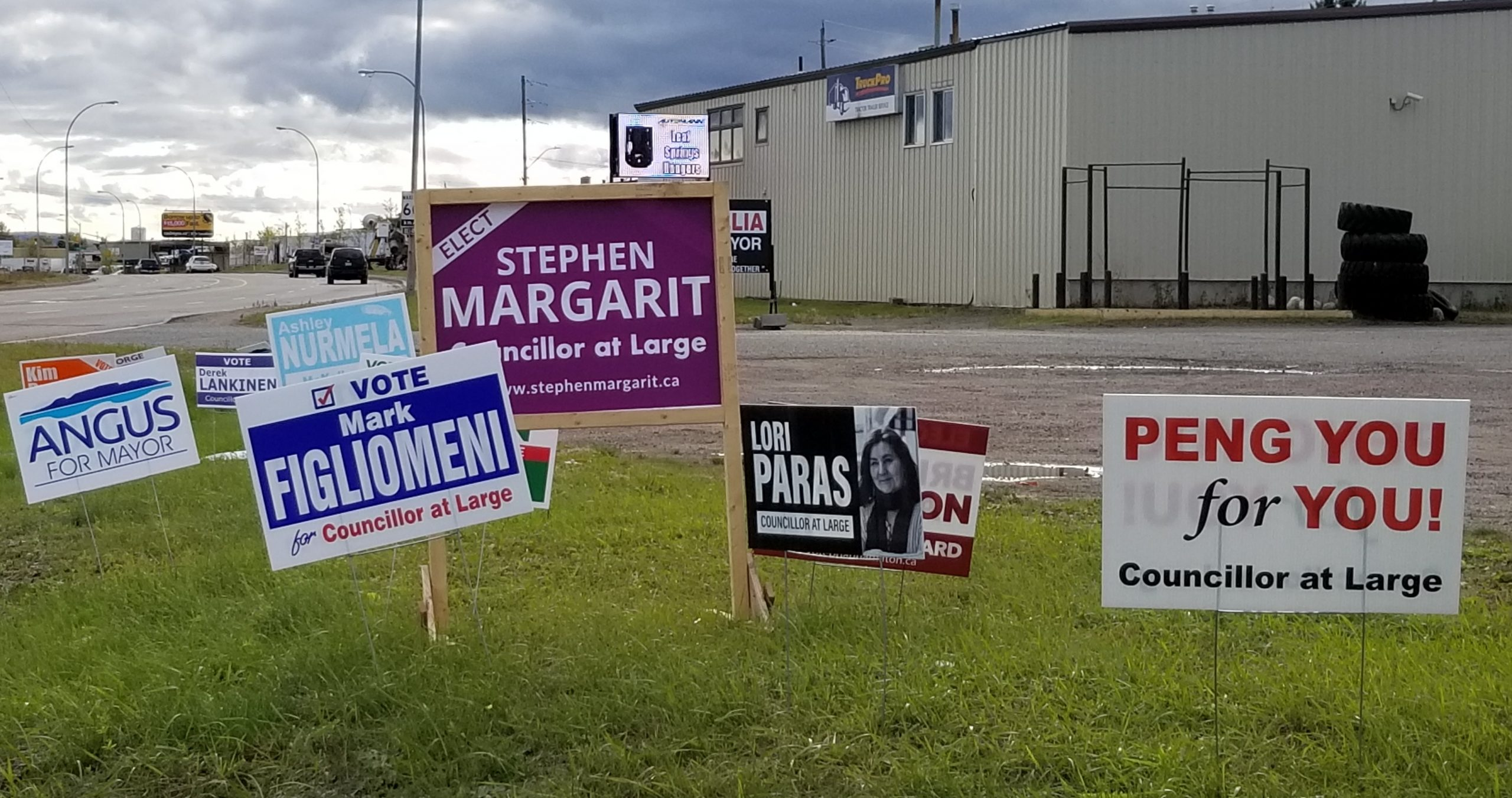 No Concerns With Election Signs: City