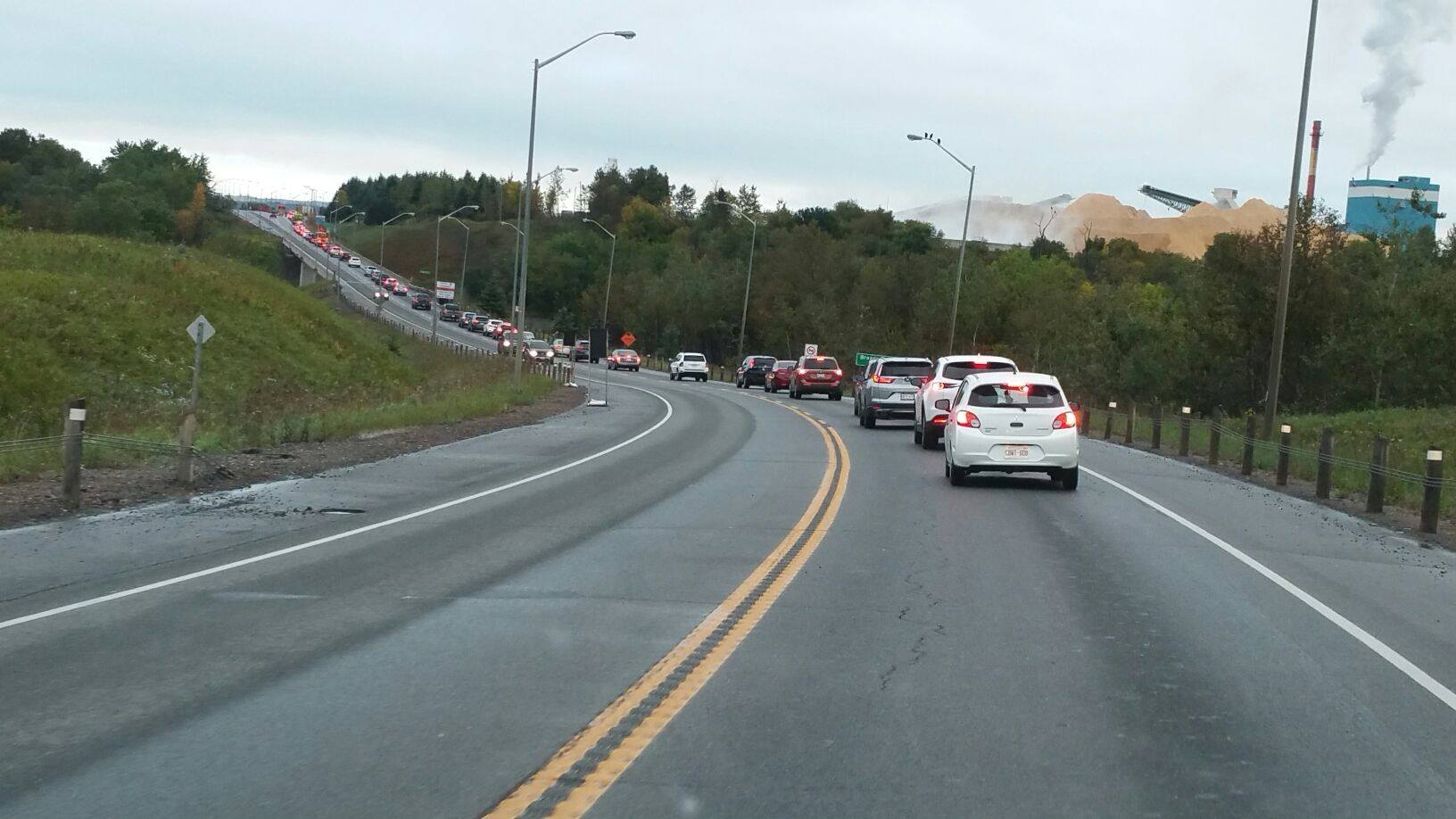 Update: Highway 61 Traffic Moving Again