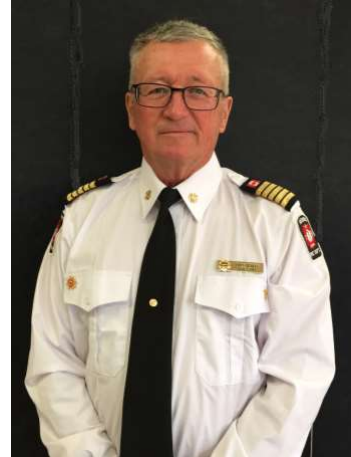 Neebing Fire Chief Honoured