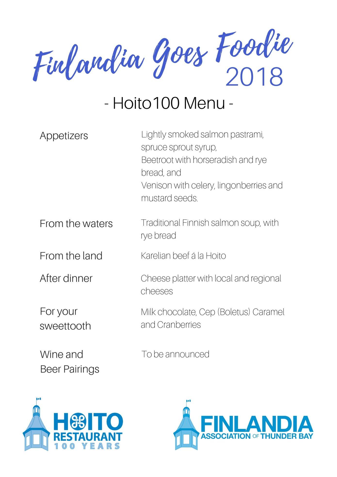 Hoito Gala Dinner