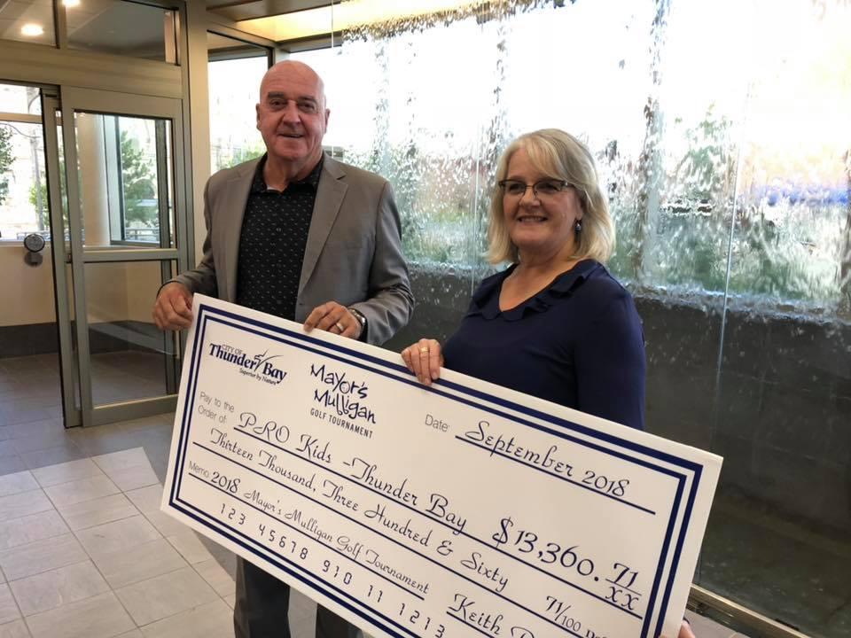 Mayors Mulligan Raises $13K