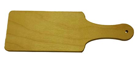 Wooden Paddle comes to school