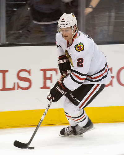 Duncan Keith Plays 1,000th Game