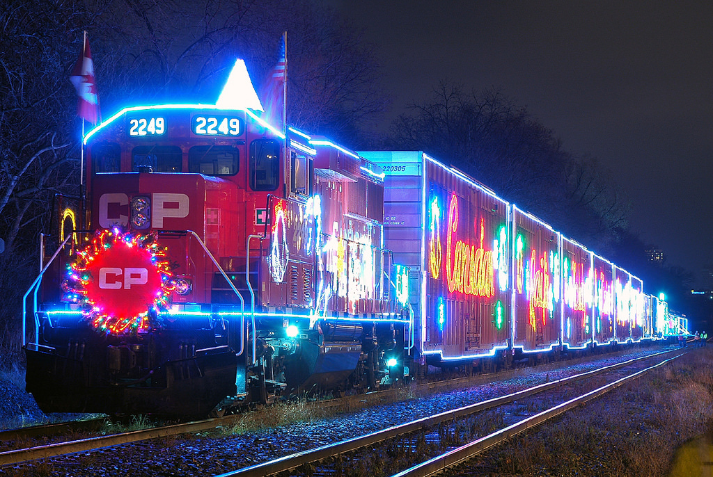 Holiday Train back on the rails