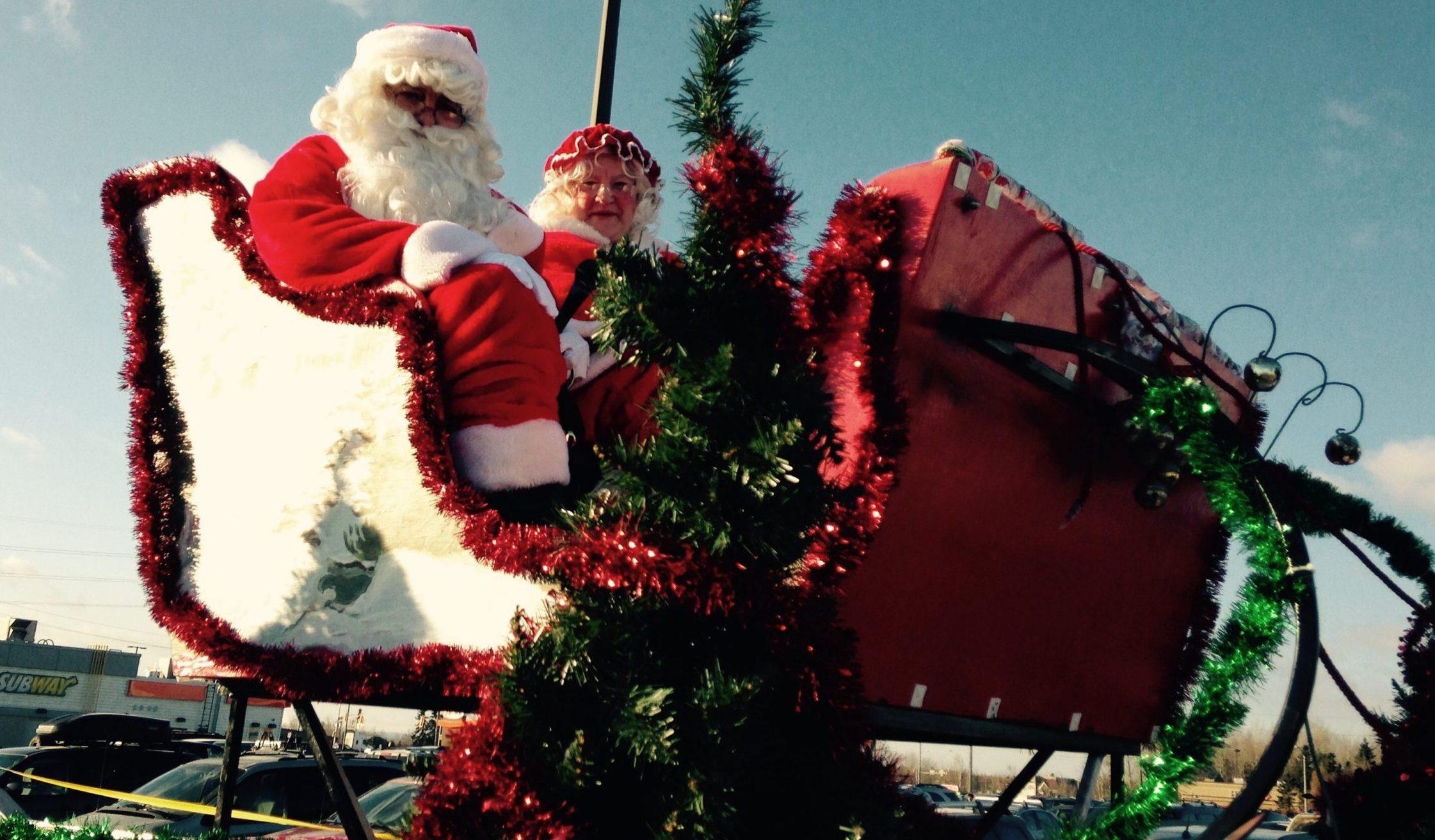 Rotary Christmas Parade This Morning