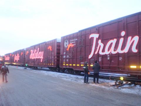 Holiday Train To Arrive In December