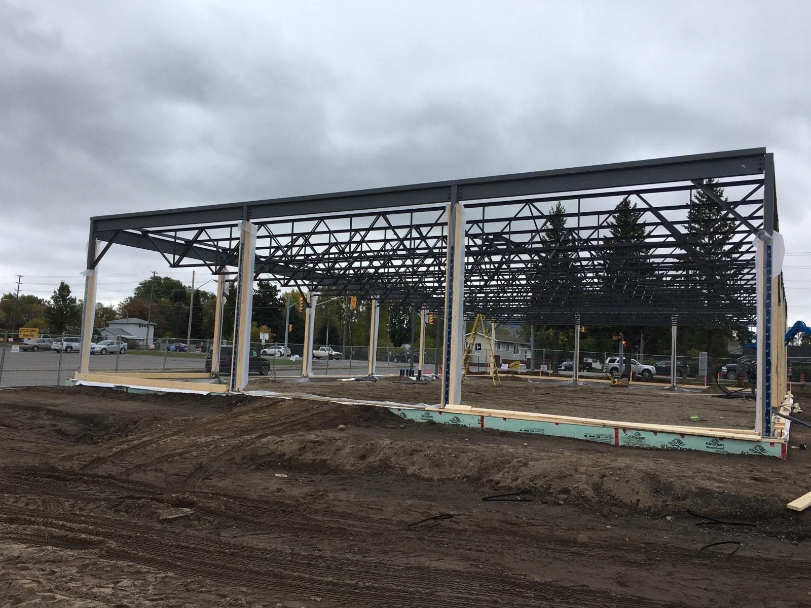 Retail Construction On West Arthur St.