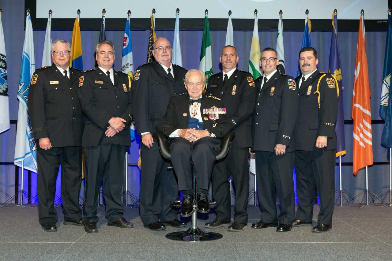 Local Paramedics Get Medals