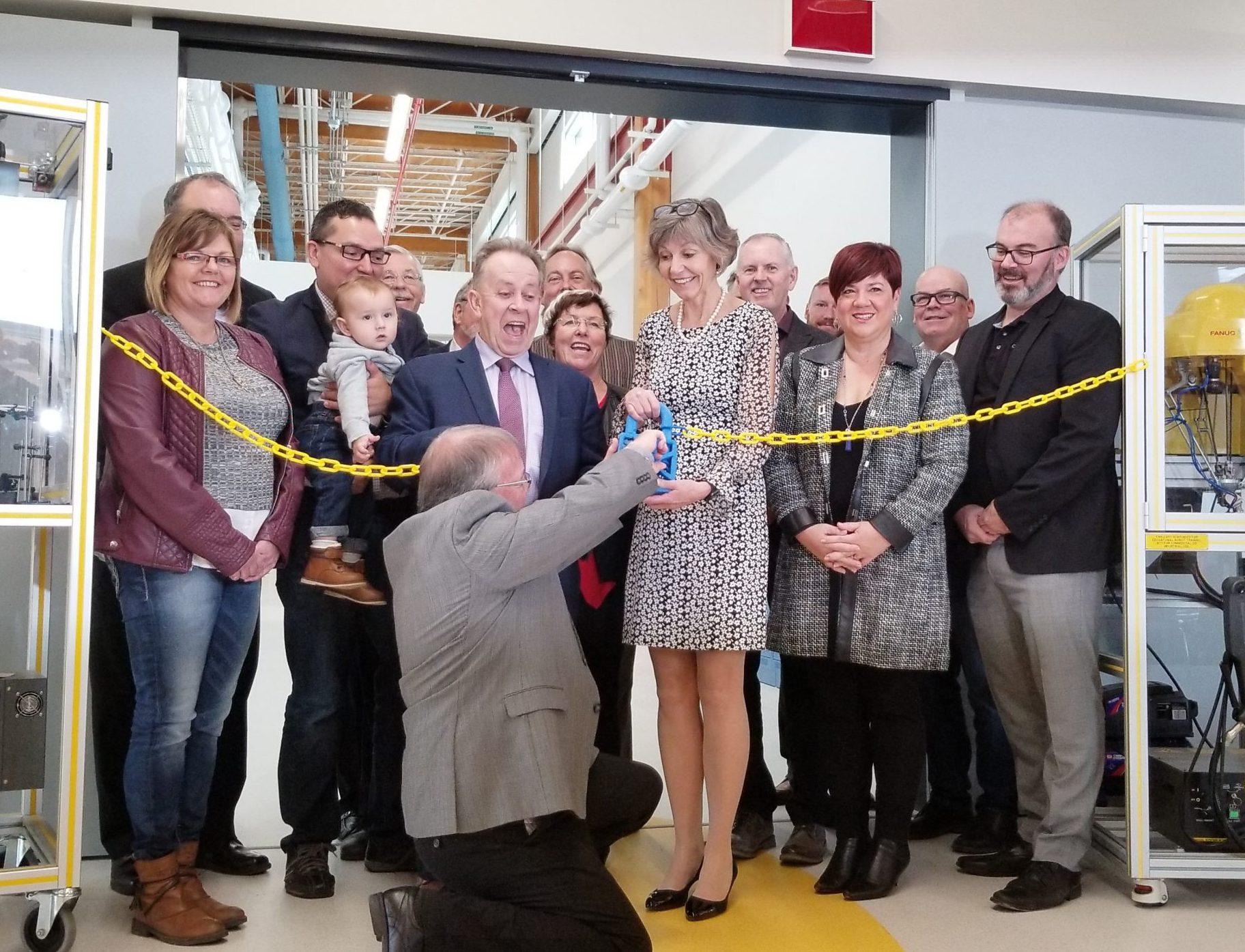 College Unveils TEC Hub Building