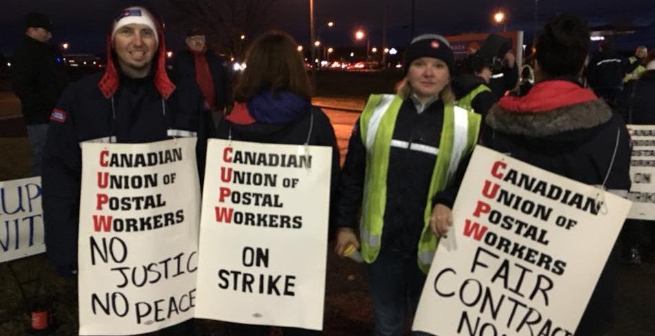 UPDATE: Rotating Postal Strike Hits Locally