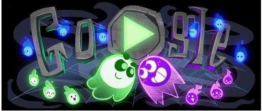 Google Made a Halloween Game!!