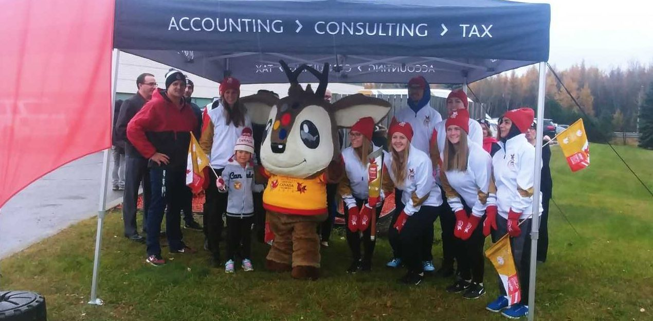 Winter Games Torch Relay Hits City