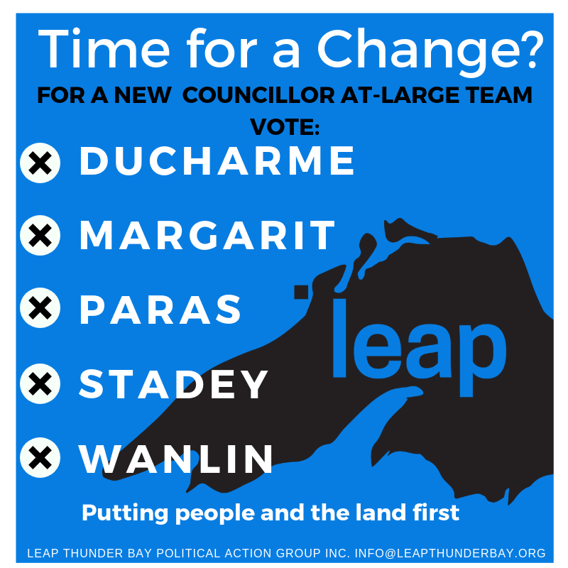 LEAP Disappointed In Election Results