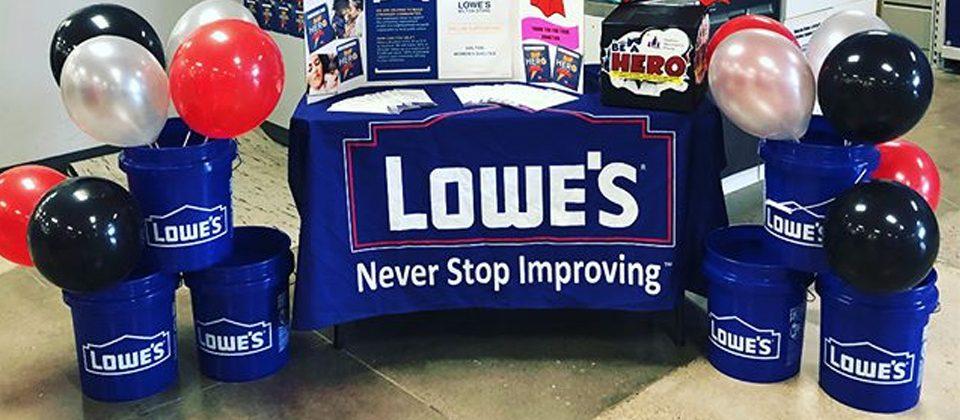 Lowe's Donates To St. Joseph's Care