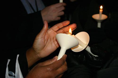 Candlelight Vigil At Lakehead University