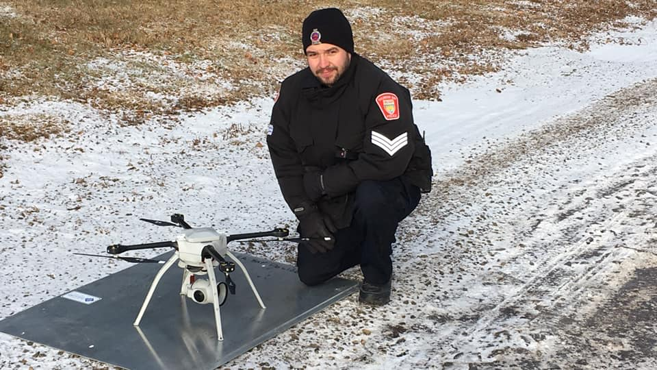 VIDEO: Police Welcome New Drone
