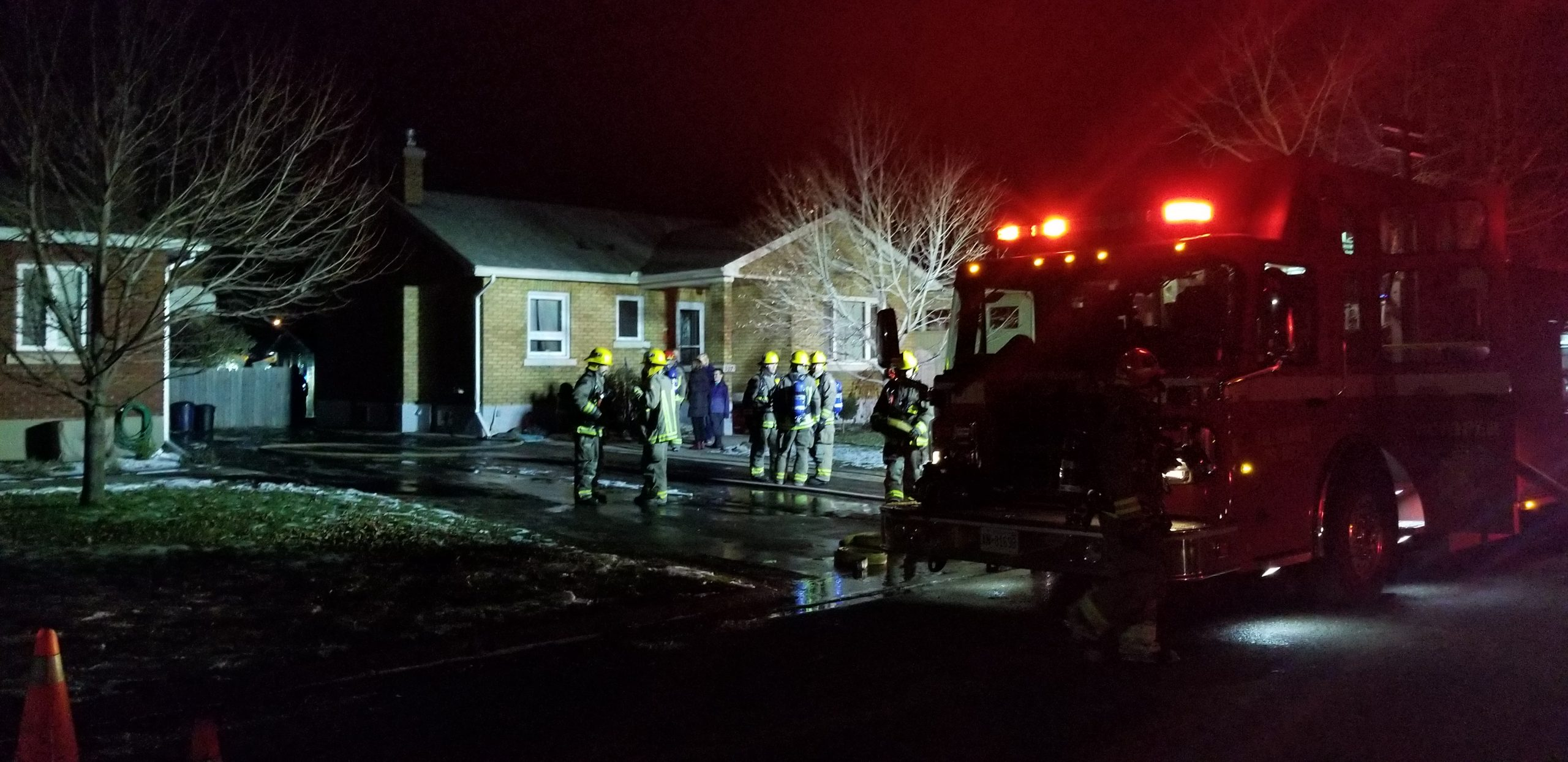 Gas/Propane Tanks Explode In Fire