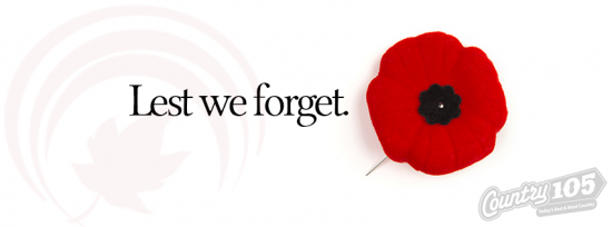 Remembrance Day in Thunder Bay