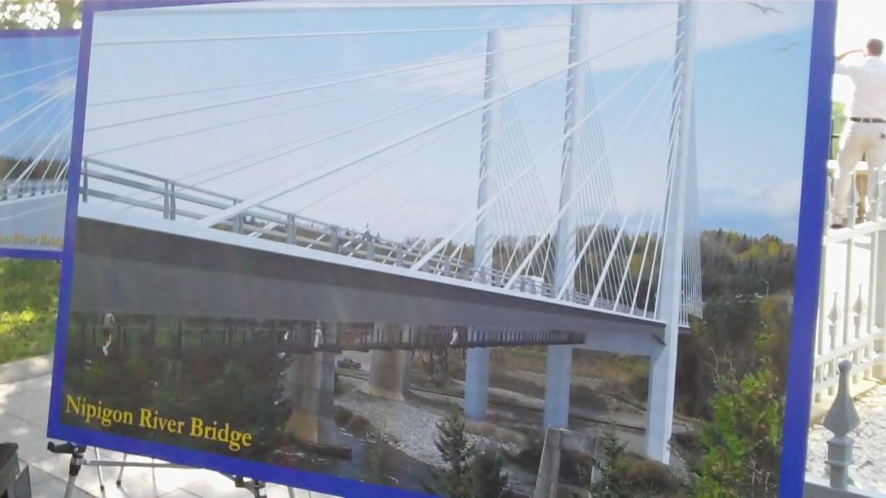 Nipigon Bridge Now Complete