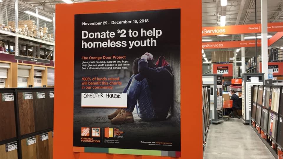 Orange Door Campaign Helps Charity