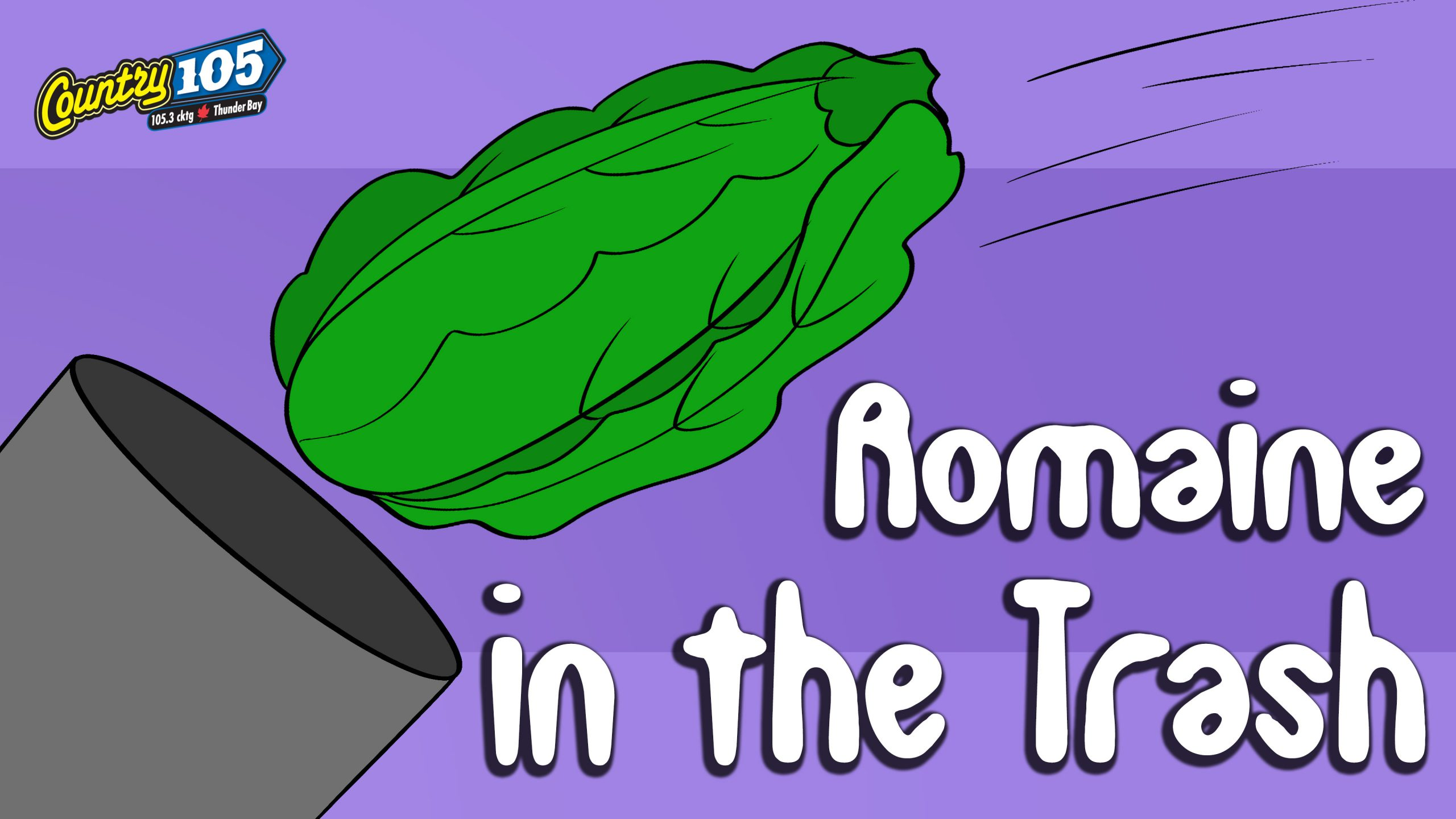 Video: Romaine in the Trash