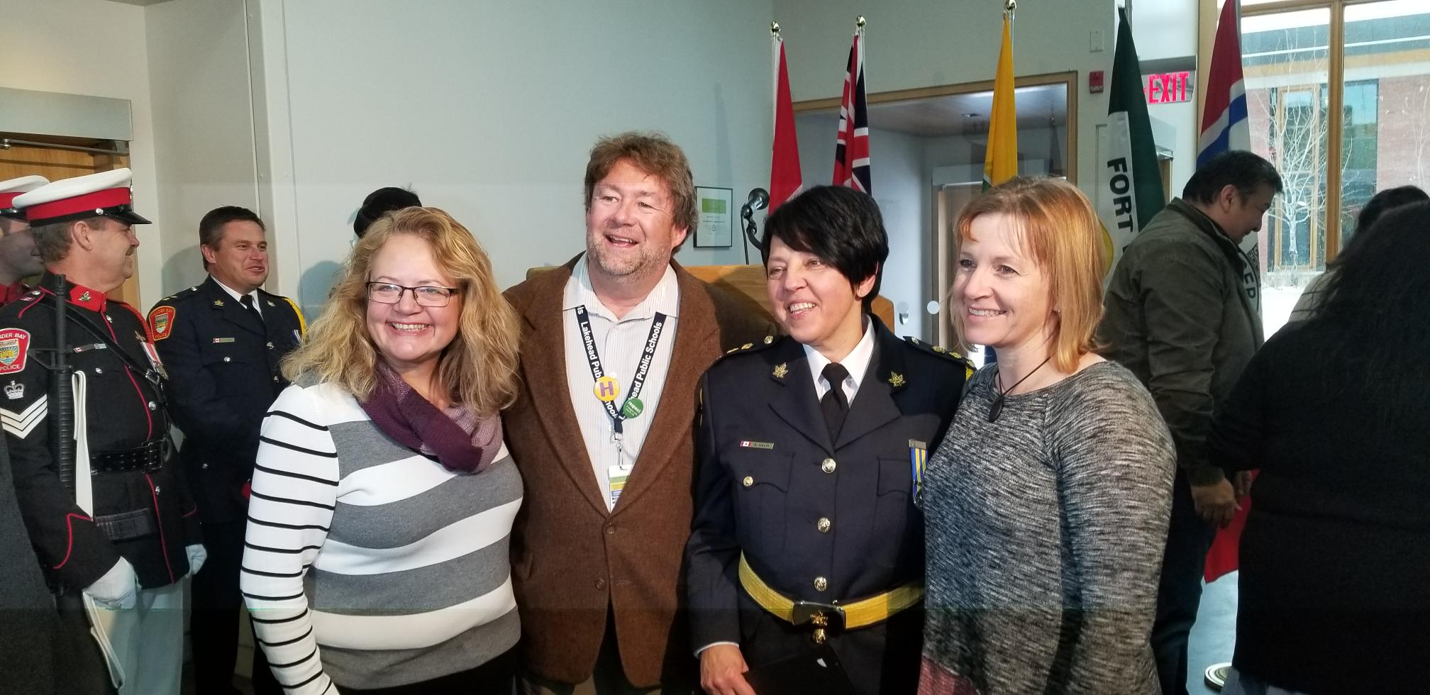 VIDEO: Sylvie Hauth Sworn In As Police Chief
