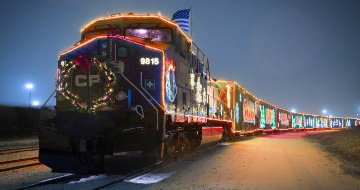 Acadia On Board Holiday Train