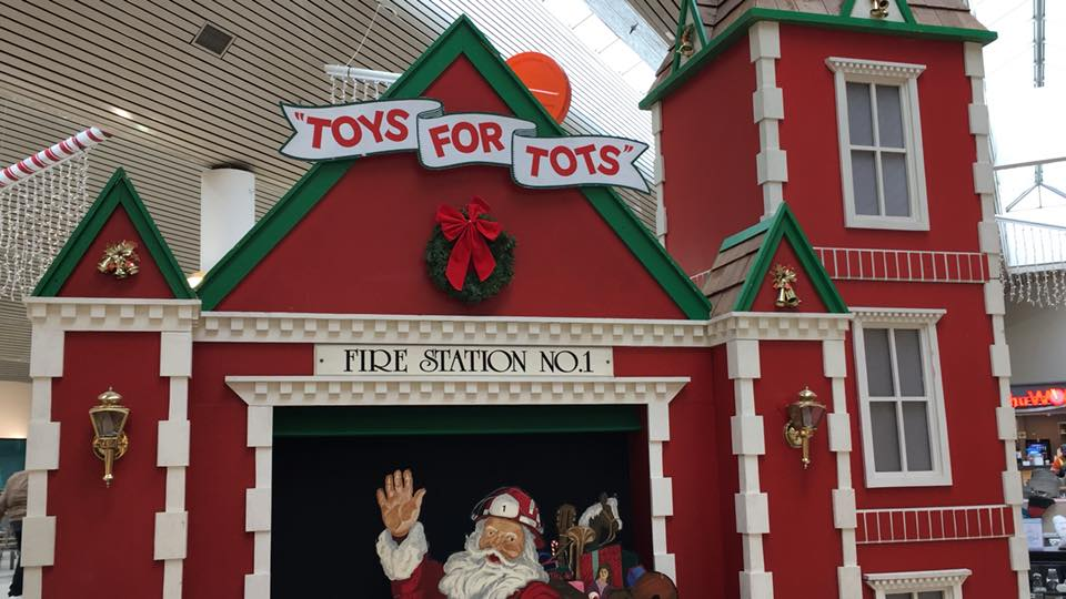 Firefighters Launch Toys For Tots