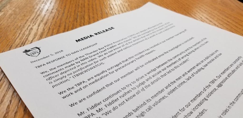 Police Association Rebukes NAN Statement