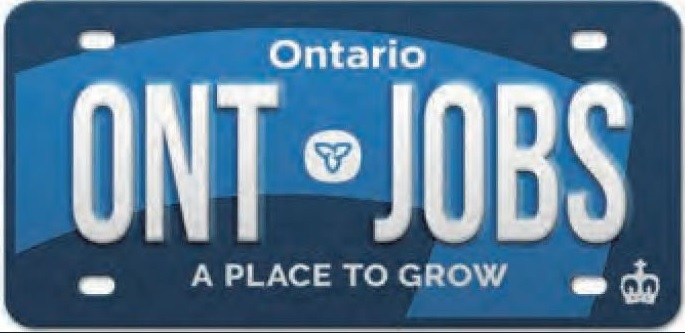 The New Look Of The Ontario Licence Plate Country 105