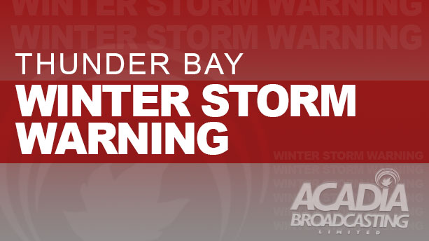 UPDATE NOON: Winter Storm Warning Remains