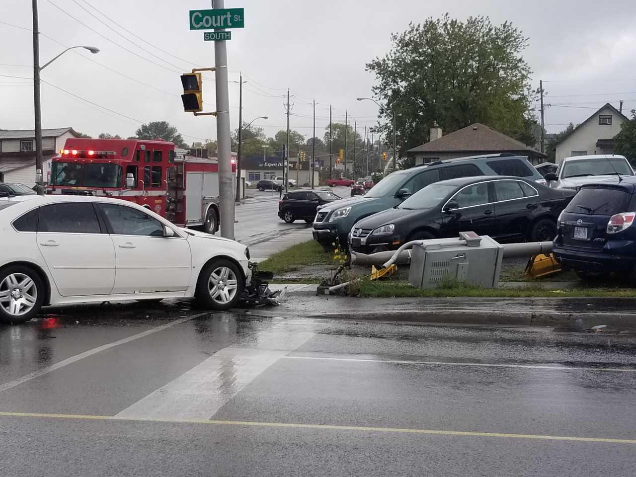 Court Street Open After Crash