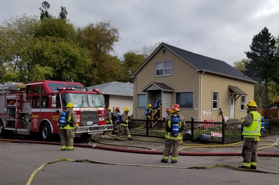 No Injuries In Rosedale Ave. Fire
