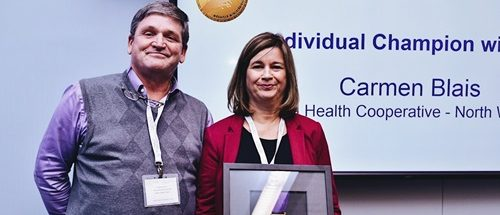 Local Health Care Worker Honoured