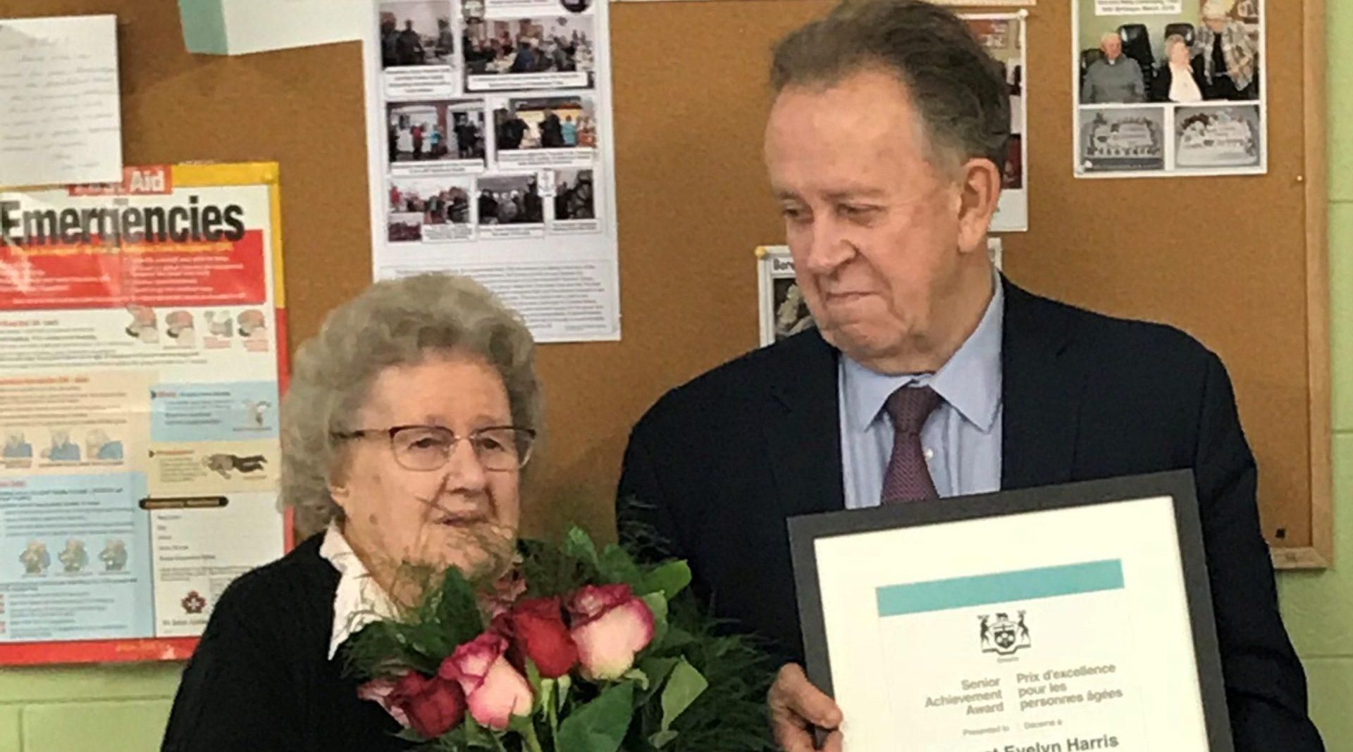Area Senior Honoured