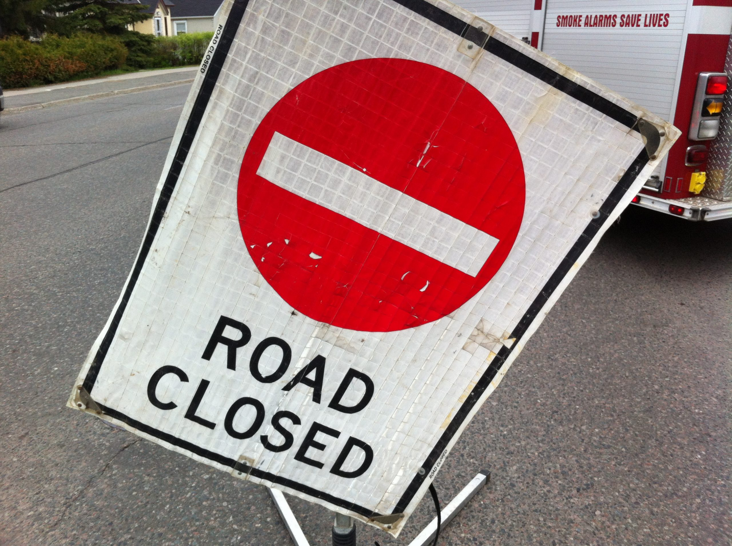 Roadwork On Red River Road