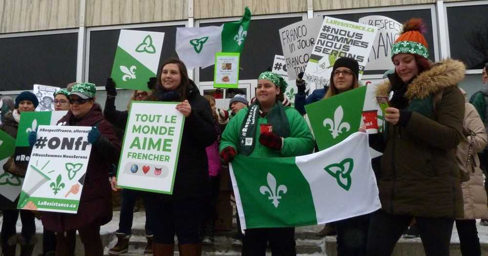 Francophones Protest Watchdog Cuts