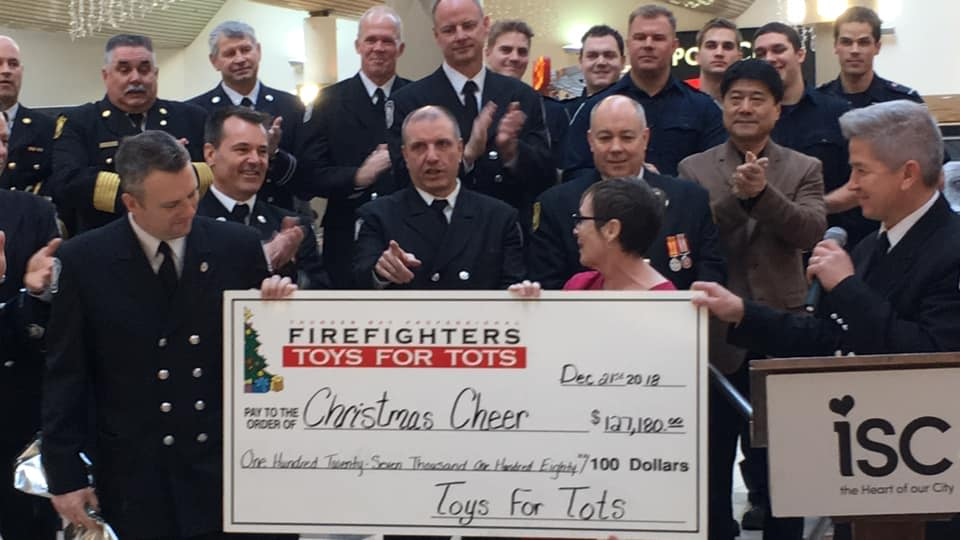 Toys For Tots Helps Christmas Cheer