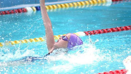 Olympian Helps Local Swimmers