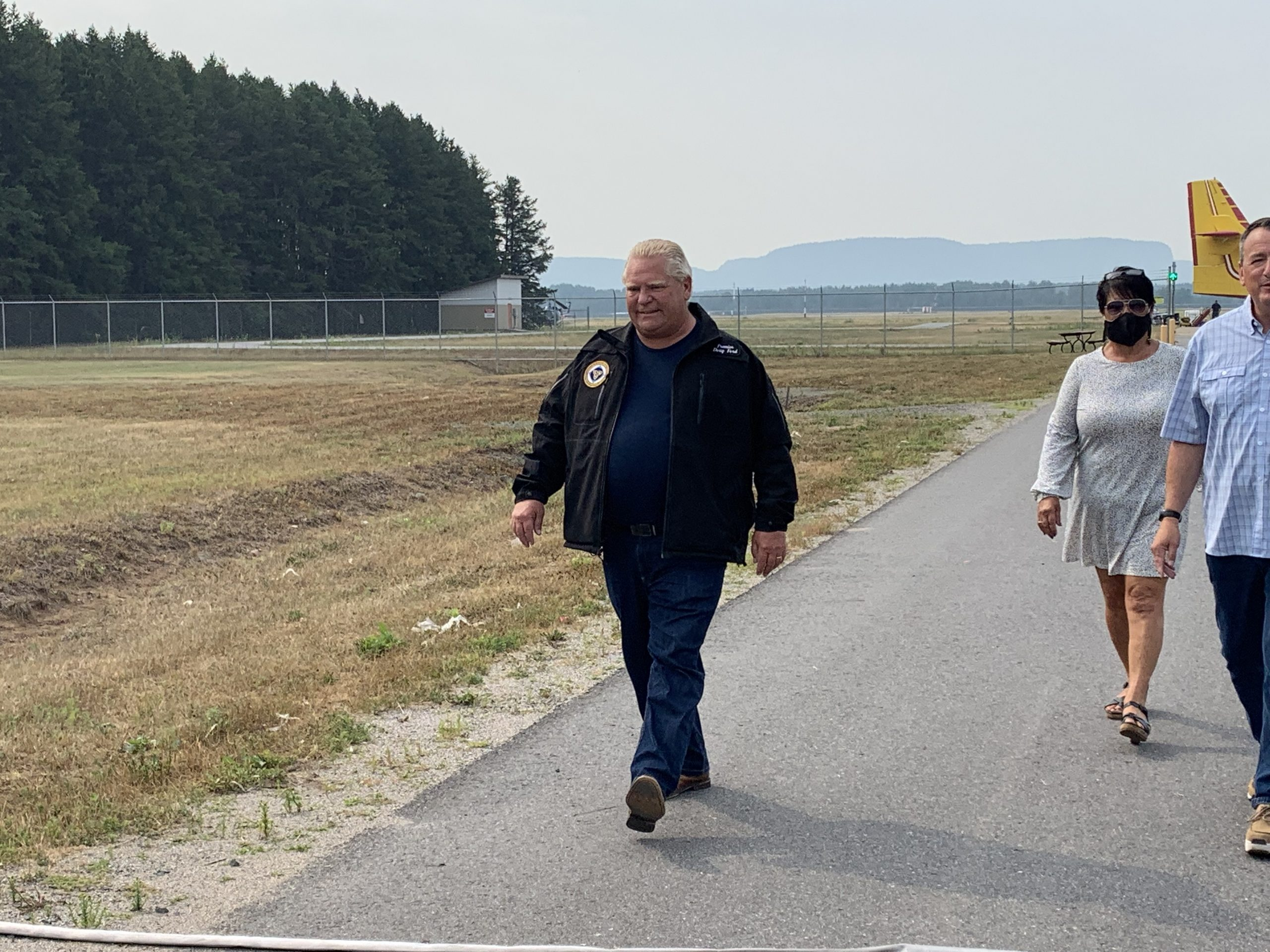 Premier Ford Visits Fire Evacuees in Thunder Bay