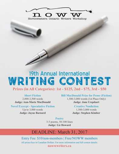 Submissions Being Sought For Writing Contest | 89 5 The Lake