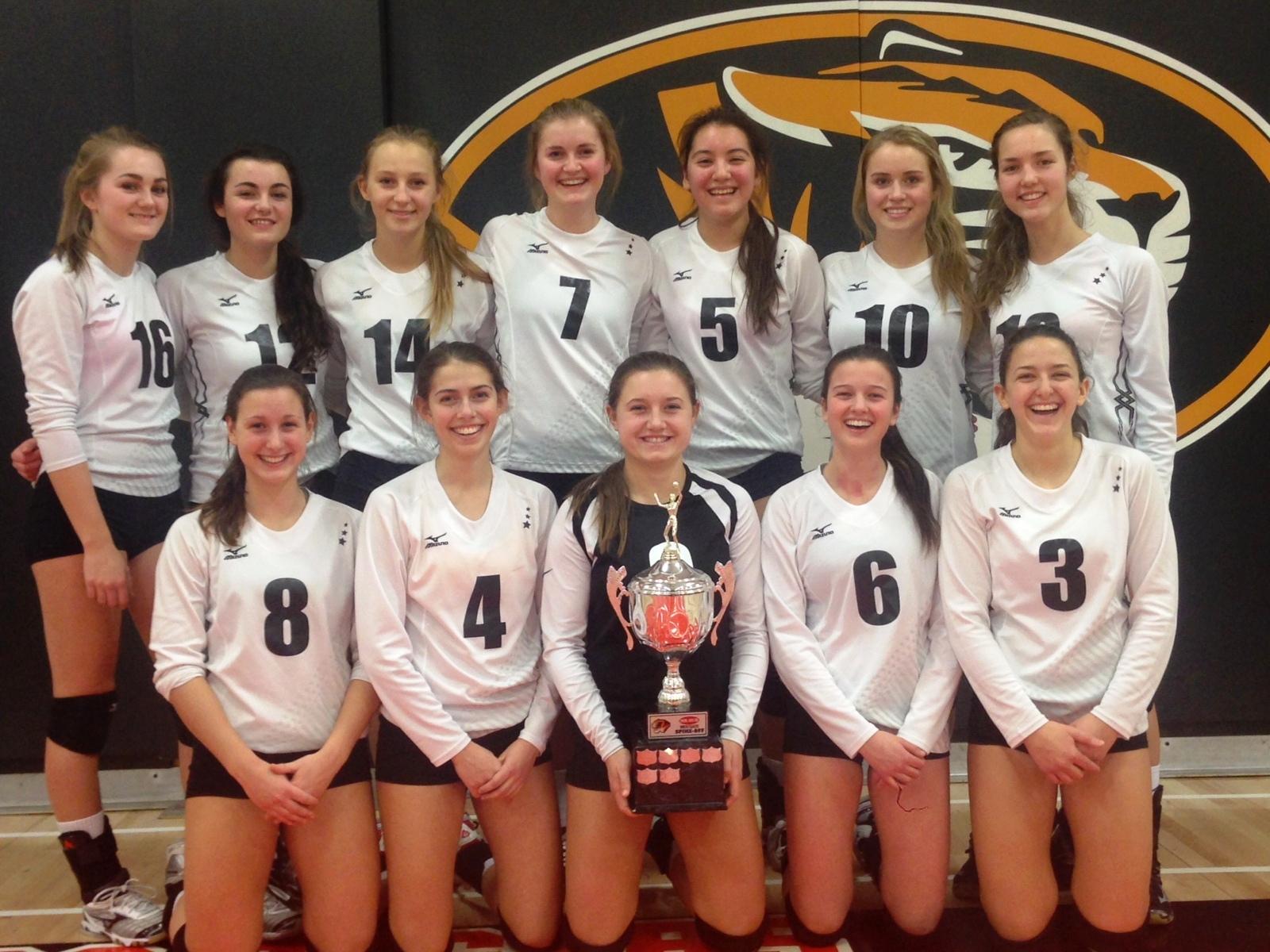Saints Senior Girls Win Thunder Bay Volleyball Tournament 89 5 The Lake
