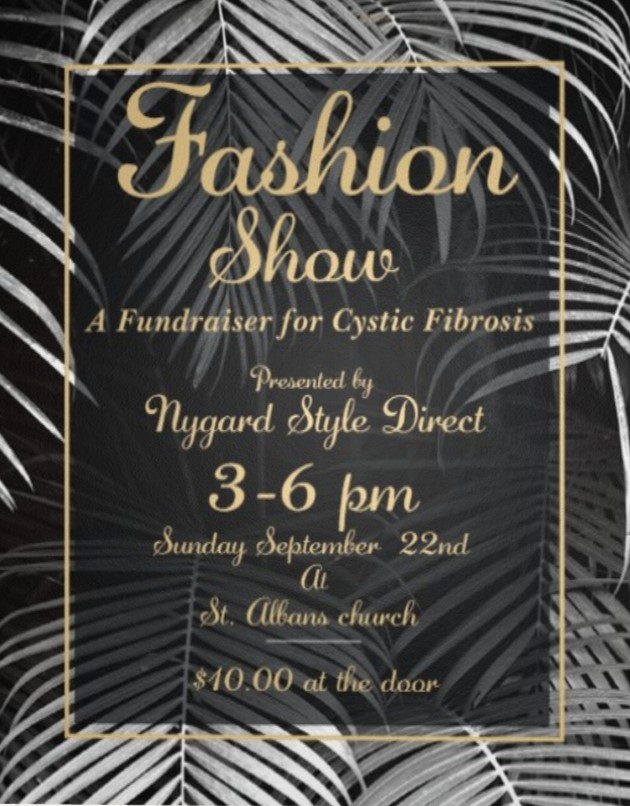 Cystic Fibrosis Fundraiser This Weekend