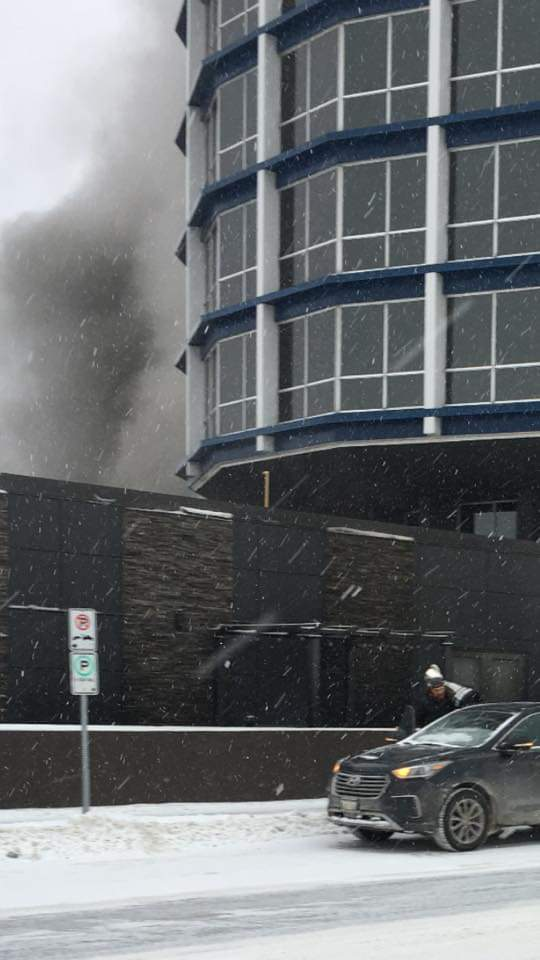 Grey Cup Survives Clarion Inn Fire