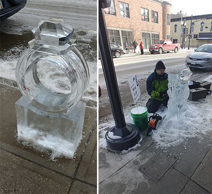 Elk's Ice On 8th Brings Ice Sculptures And More To Downtown Manitowoc