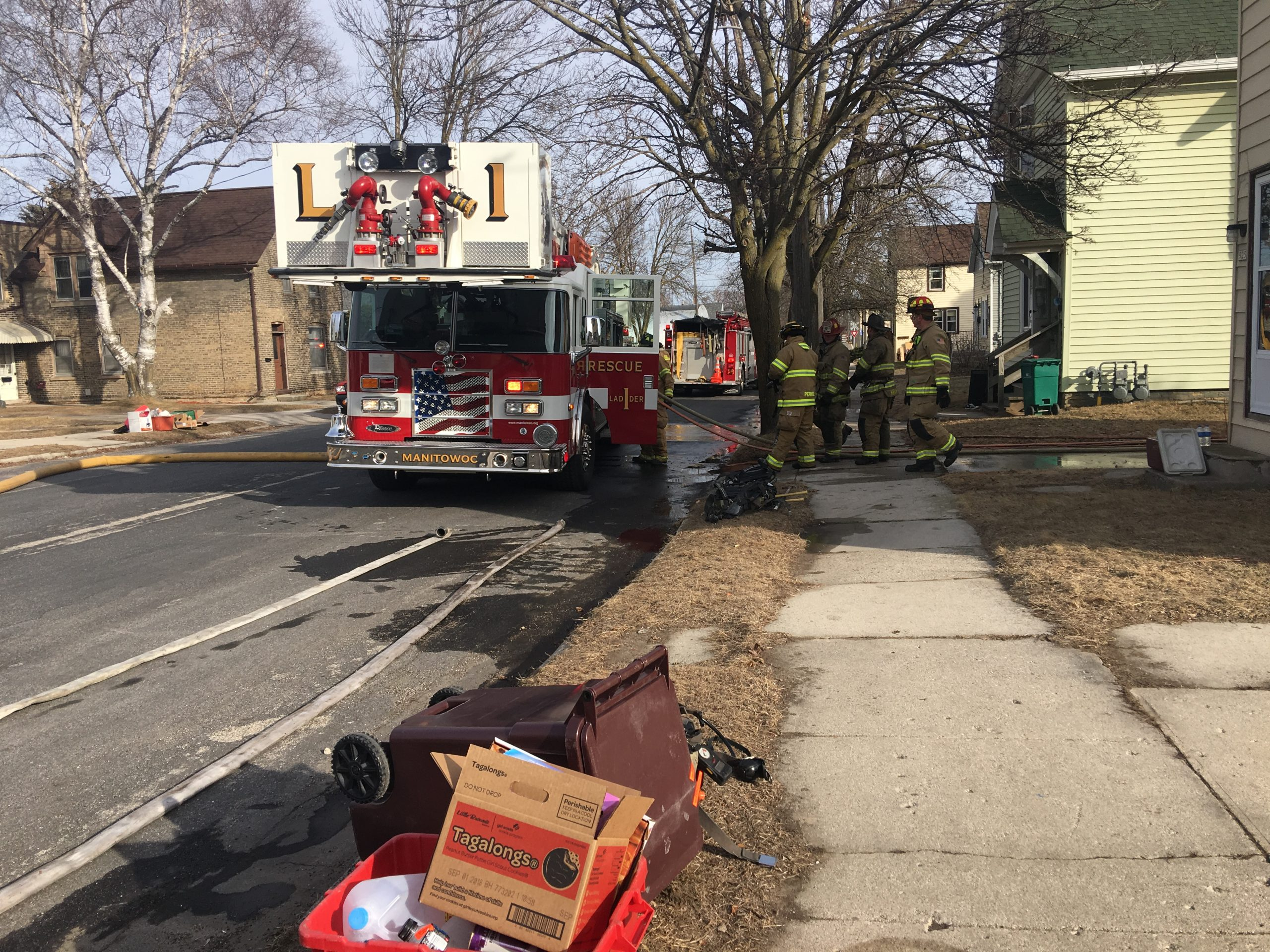 Fire on South 18th Street in Manitowoc *UPDATED*