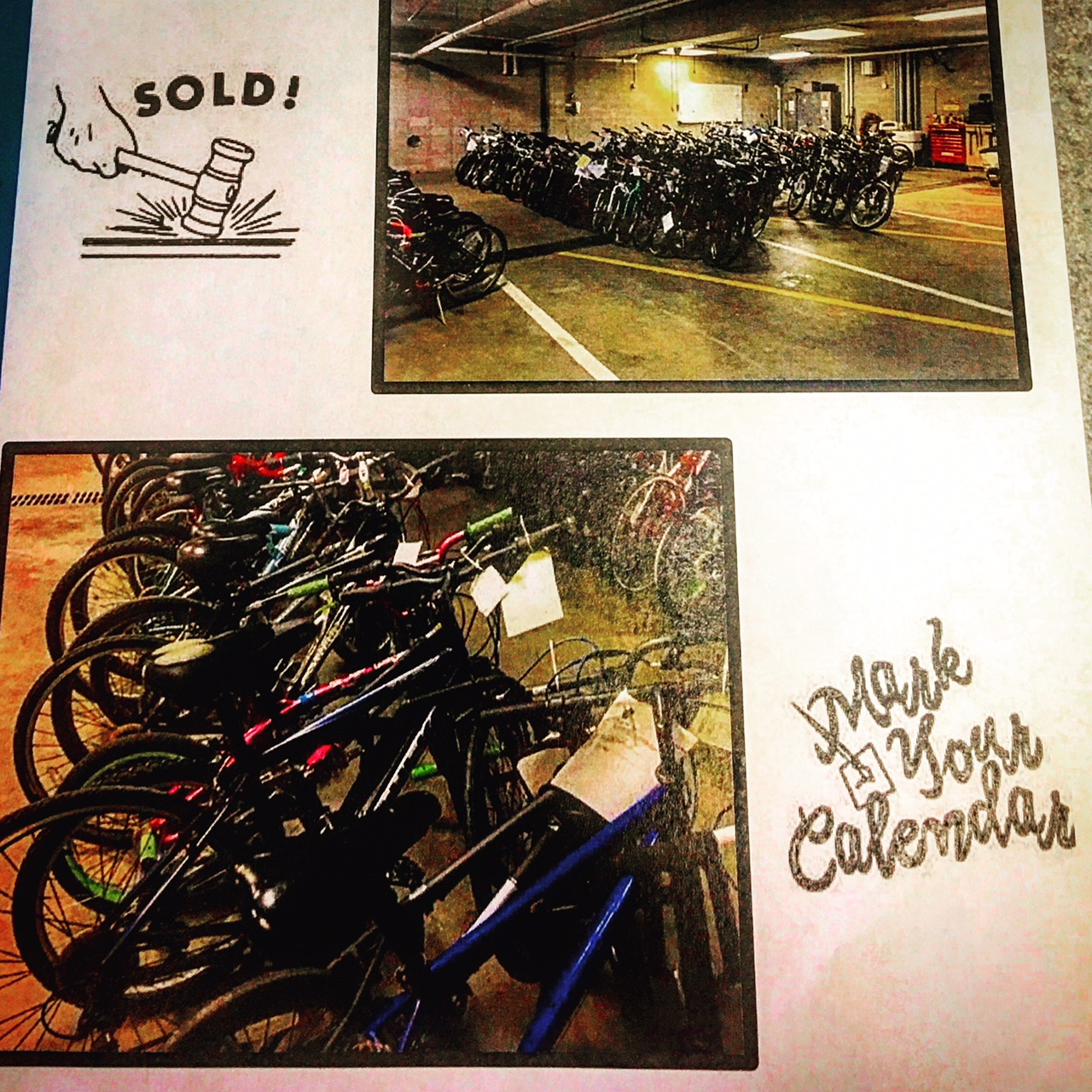 City of Manitowoc Bike Auction This Saturday