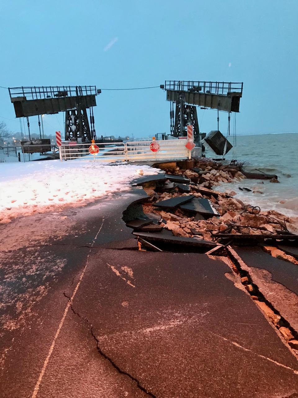 Badger Car Ferry Dock Repair Update
