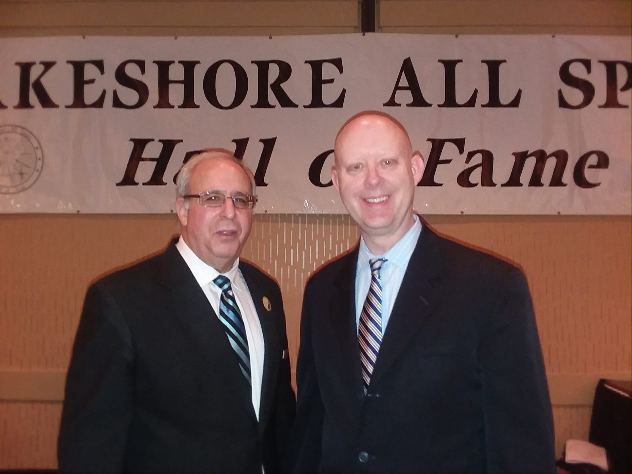 Lakeshore All Sports Hall of Fame Banquet Held Last Night